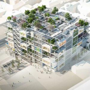 W Wiedniu powstanie Ikea z drzewami na dachu