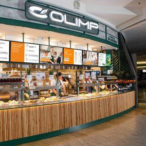 60 franczyzowa restauracja pod szyldem Olimp!