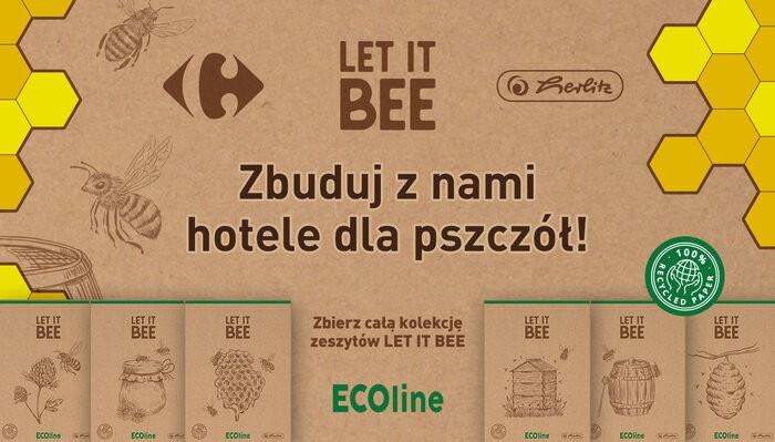 """Carrefour Polska buduje """"Pszczele hotele"""""""