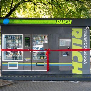 Pierwszy samoobsługowy kiosk RUCH!