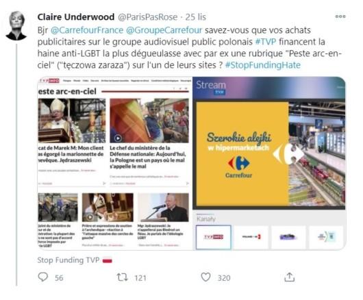 Carrefour vs. TVP, czyli spór o LGBT