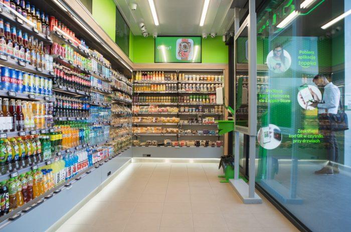 Pierwsza Żabka bez kasjerów dostępna dla klientów! żappka store