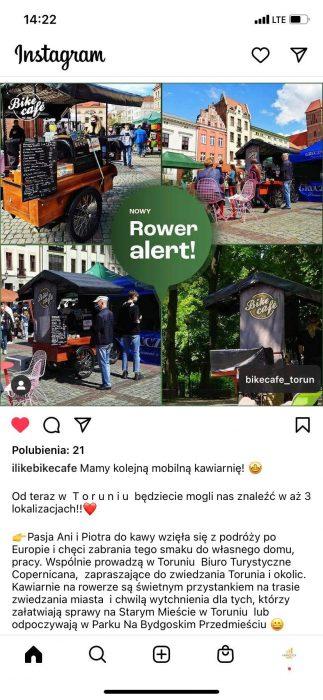 bike cafe Carrefour Polska wystawiony na sprzedaż? Studio Synergy rozwija franczyzę? - flesz tygodnia